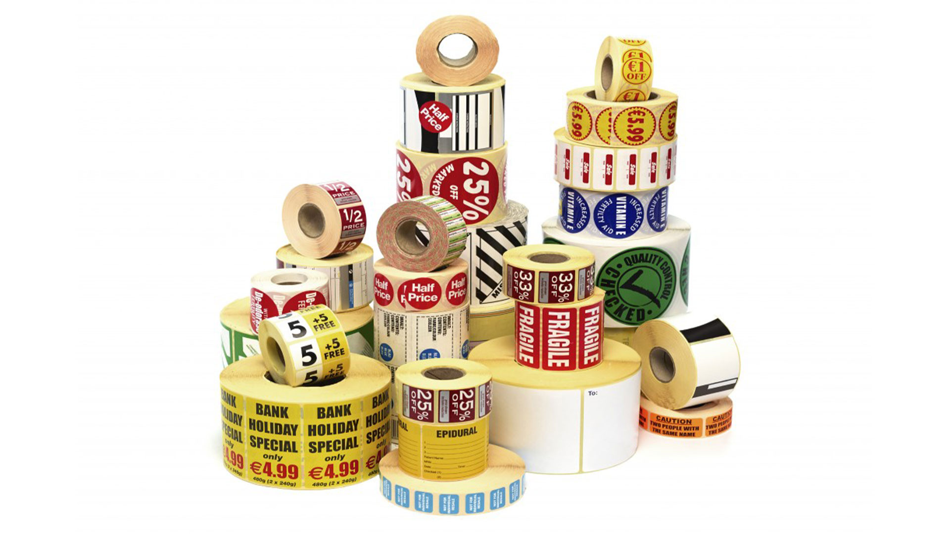 On Sale Label Printing