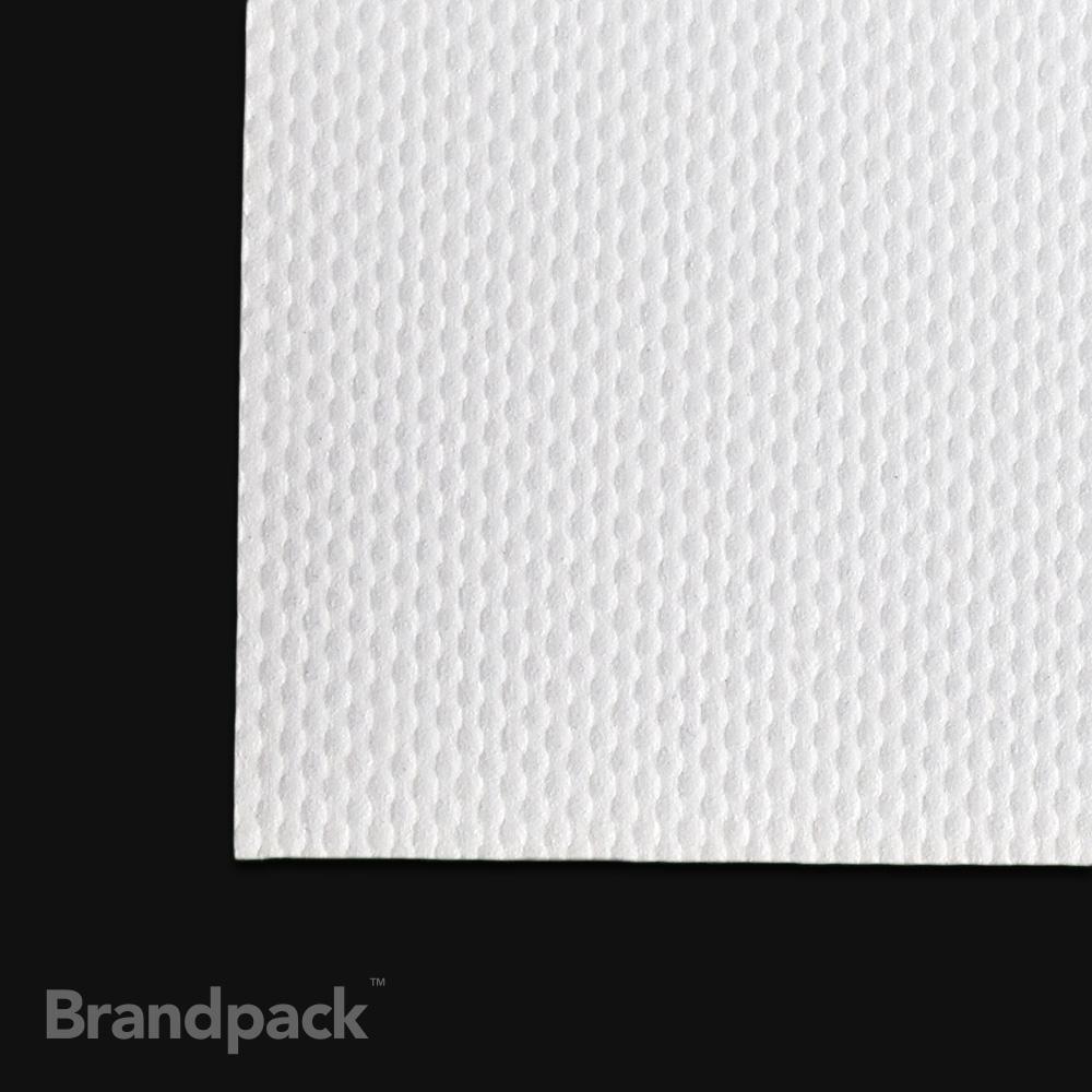 Backlit banner print